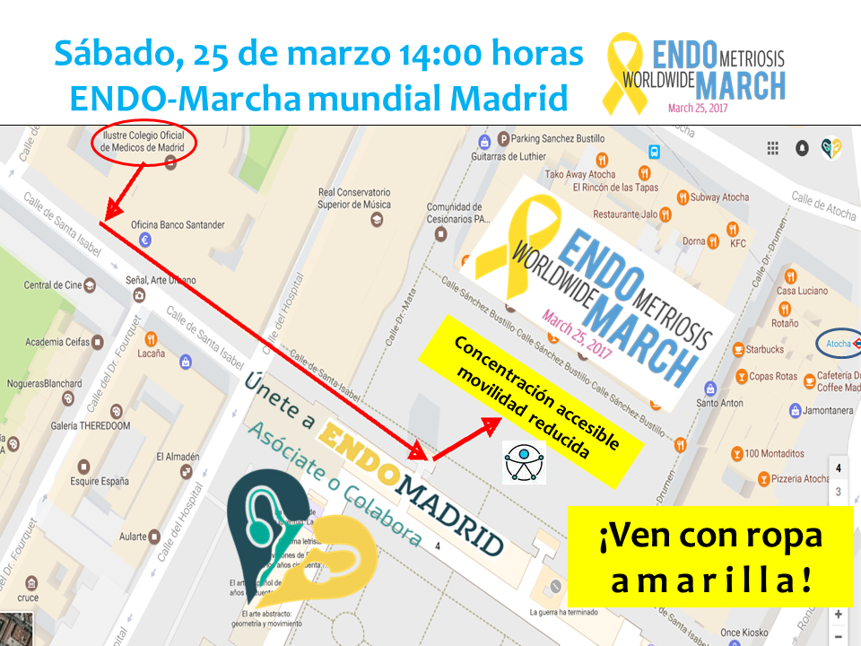 endomarch endomadrid recorrido 2017